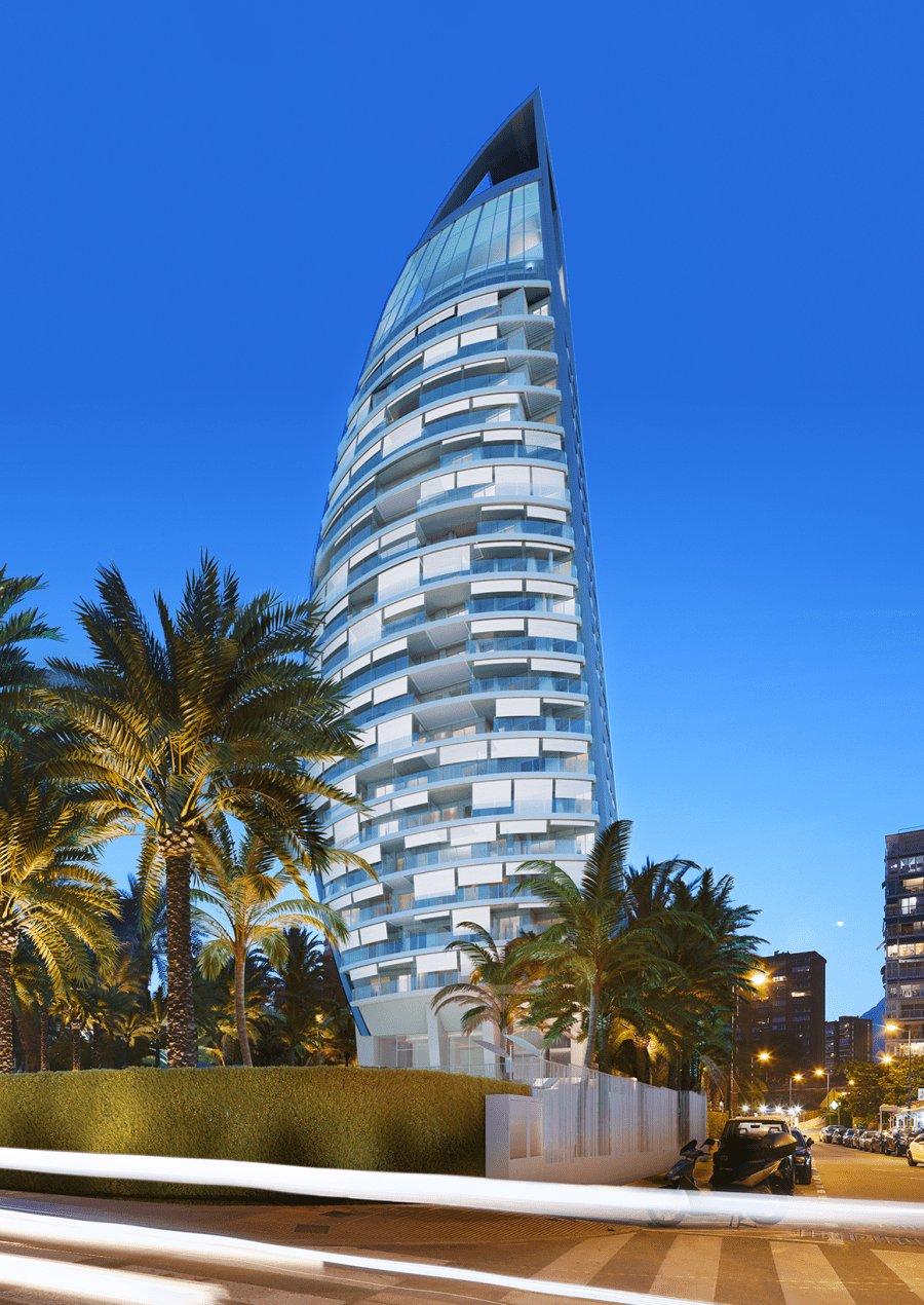 Delfin Tower_leed gold